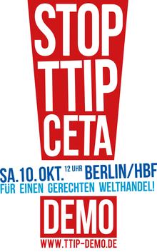 Stop TTIP und CETA