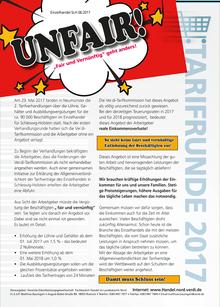"""UNFAIR - """"Fair und vernünftig"""" geht anders!"""