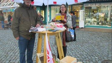 Aktion am 8. März in Eckernförde