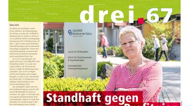 drei.67 (2018): Magazin des Fachbereichs Gesundheit, Soziale Dienste, Wohlfahrt und Kirchen