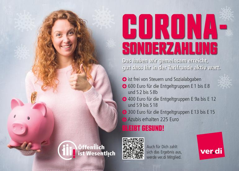 Corona-Sonderzahlung